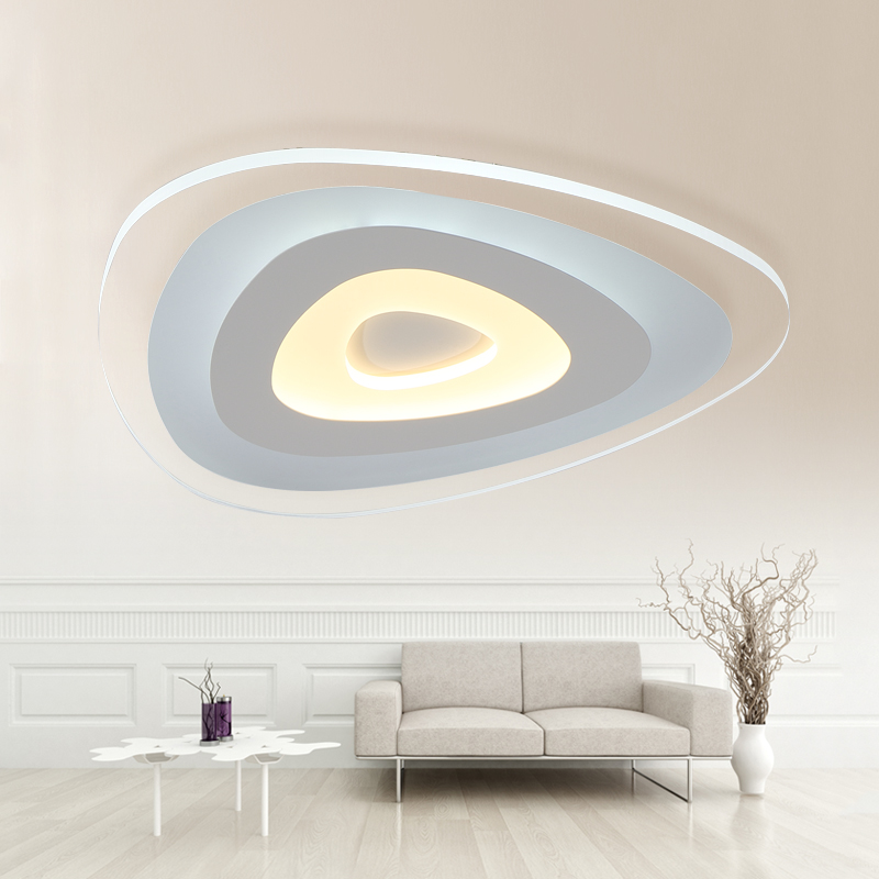 remote control living room bedroom modern led ceiling lights luminarias dimming led ceiling lamp. Black Bedroom Furniture Sets. Home Design Ideas
