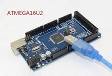 Buy Livraison gratuite Mega 2560 R3 Mega2560 REV3 Conseil ATmega2560-16AU + Cable USB compatible pour arduino Mega 2560 r3 for $10.50 in AliExpress store