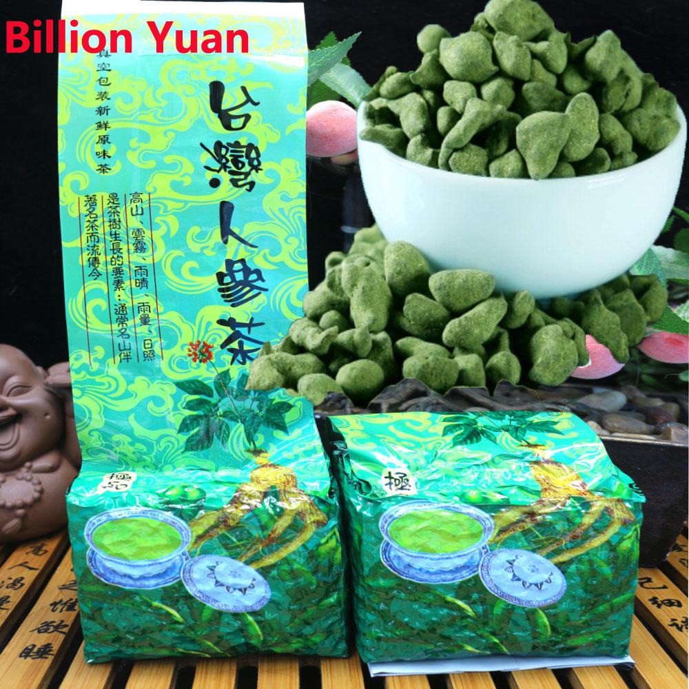 2016 spring 250g Taiwan dongding ginseng Oolong tea China Famous Health Care Teas panax ginseng tea losse weight tea(China (Mainland))