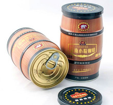 Chinese specialty instant coffee 130G canned coffee eight kinds of tastes optional latte cappuccino mocha blue