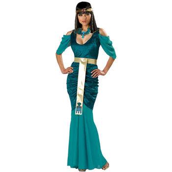 Новый египетский жемчужина клеопатра костюм фэнтези vestido косплей хэллоуин необычные платья взрослый карнавал техники