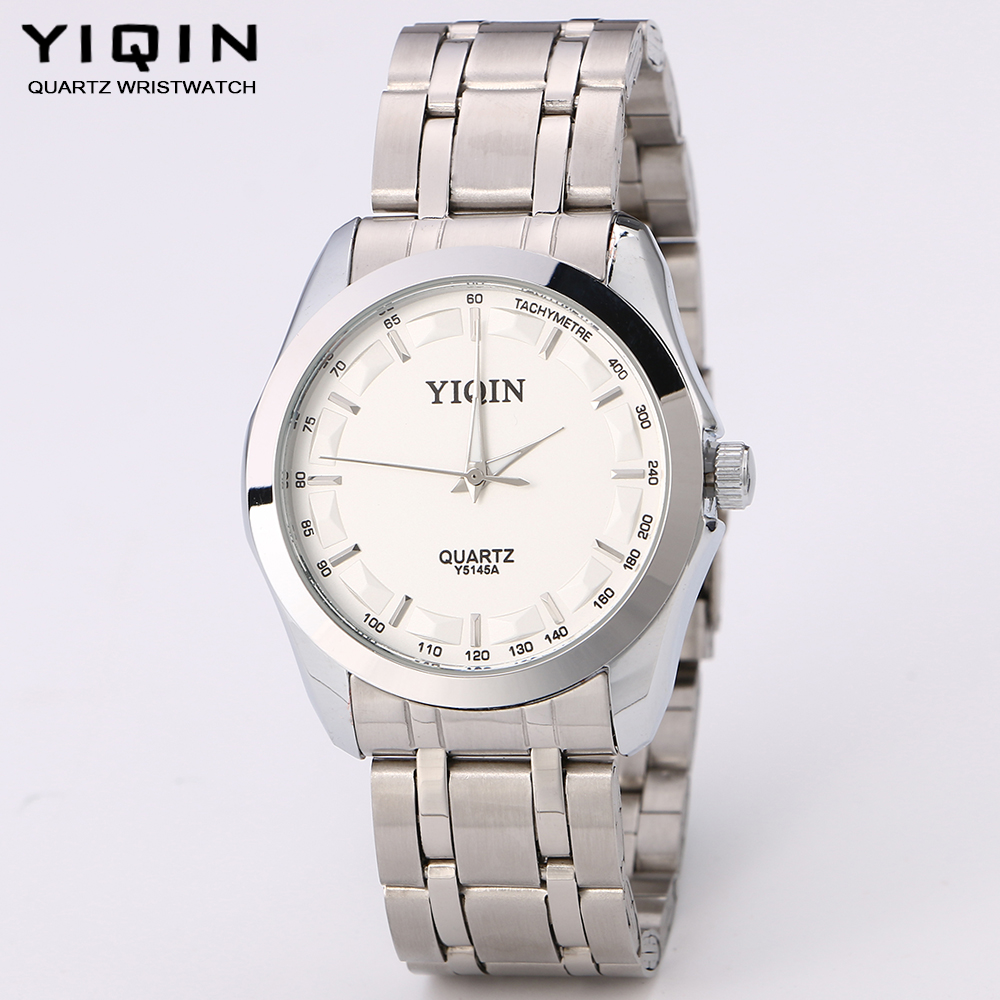 Hot Sale Men and women Watches Top Brand Luxury fashion Stainless Steel Hour Clock Male Casual Quartz Watch Men Sport Wristwatch(China (Mainland))