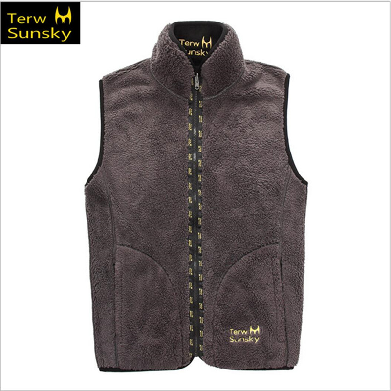 Free Shipping--2015 Terwsunsky News HQ Mens Autumn/Winter Thickening Velvet Double-side Sports Casual Vest TR030 <br><br>Aliexpress