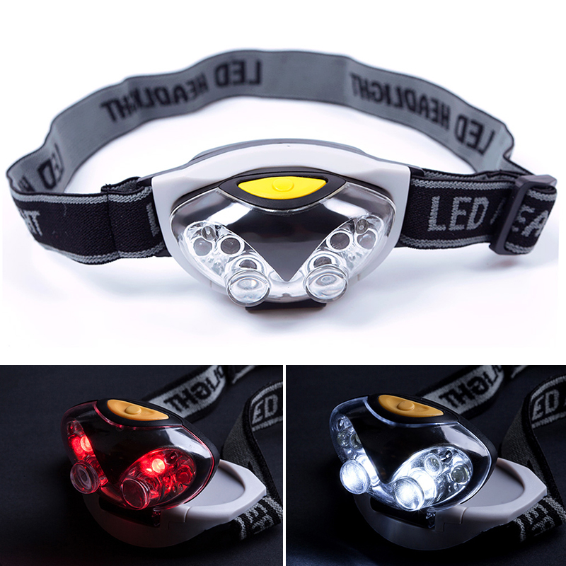 New Portable LED Head Lamp Torch Light Hands Flashlight With Headband Emergency Survival for Camping #65020(China (Mainland))