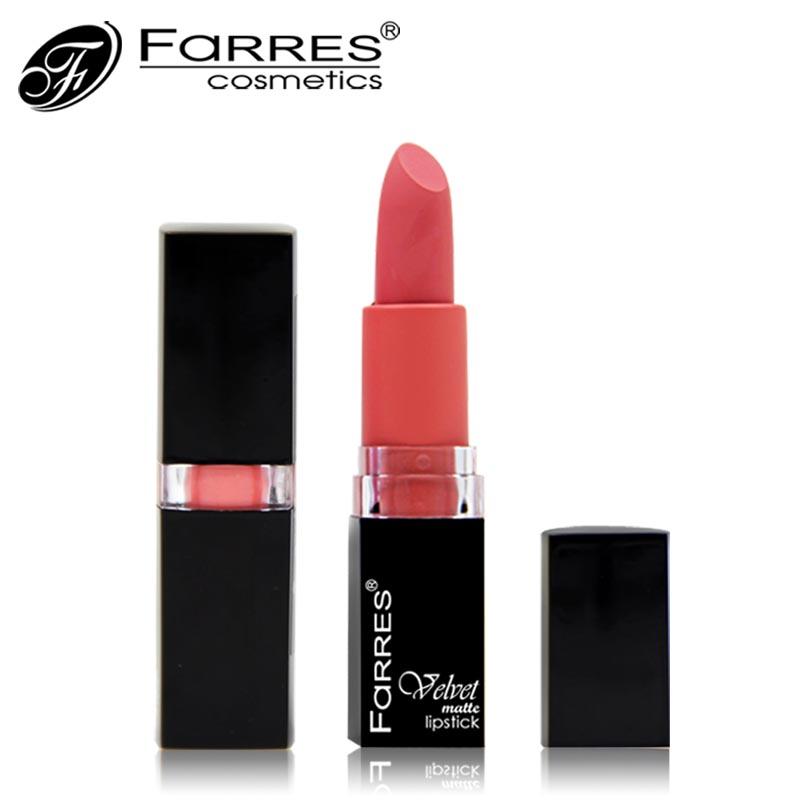 Matte Lipstick Long Lasting Elegant Waterproof Lip Stick Makeup 18 Colors Optional  -  Farres Cosmetics store