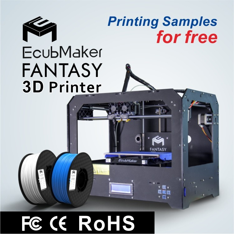 Good Stability 3D printer ,2 extruder,high resolution(China (Mainland))