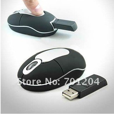 2.4Ghz Wireless Optical Mini USB Mouse PC Laptop Notebook Tablet 800DPI Mice +Drop Shipping - MIXI store