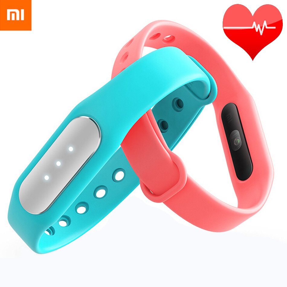 Original Xiaomi Mi Band 1S Pulse 1A Smart Band Miband For Android 4.4