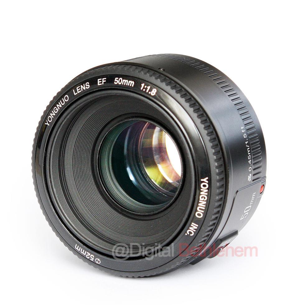 Объектив для фотокамеры Other YONGNUO 50 EF 50mm f/1.8 AF/MF Canon YN EF 50mm F1.8  цена и фото