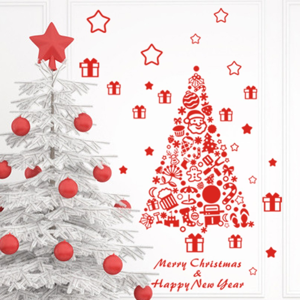 Sworna holiday series sn55 merry christmas santa claus elk sleigh clothes shop holiday happy new year wall art merry christmas amipublicfo Choice Image