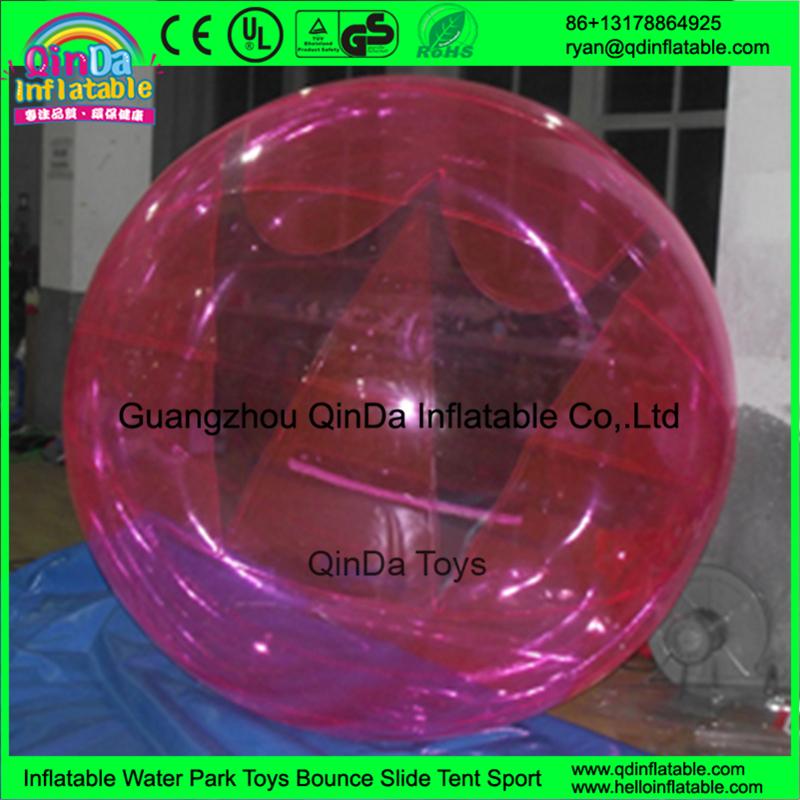 Bubble PVC Water Walking Roll Ball / Inflatable Zorb ball water zorb ball, inflatable water walking ball(China (Mainland))