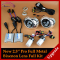 Upgrade Full Metal MH1 Pro 2 5 Leader HID Bi xenon Lens Projector Headlight Full Kit