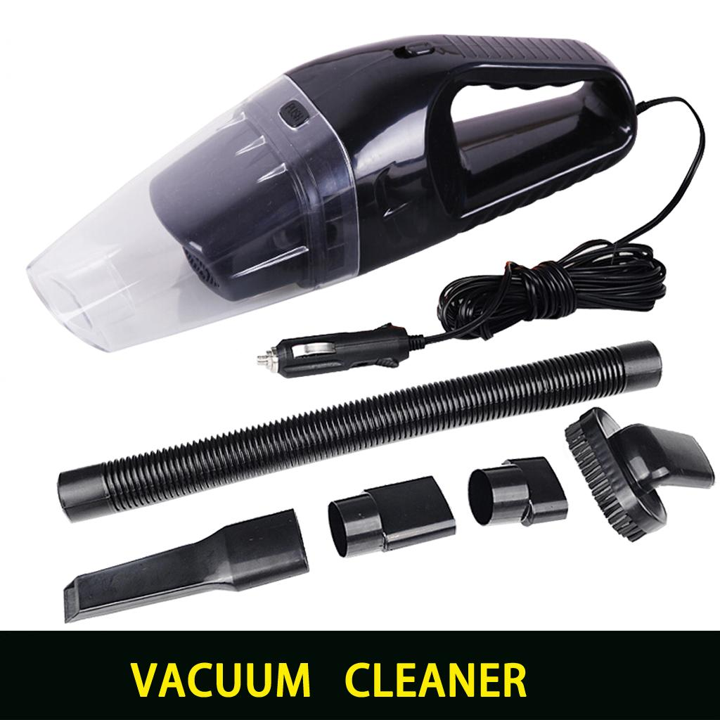 Portable car vacuum cleaner wet and dry dual use with power 120W 12V 5 meters of cable, superabsorb car waste, freeshipping 001(China (Mainland))