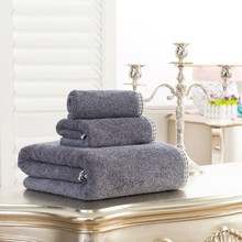 Buy Island Style Bath Towel Set 100% Egyptian Cotton Large Beach Towel Absorbent Bathroom Towel Quick Dry FJ-4051 MJ-1217 YJ-5048 for $39.78 in AliExpress store