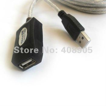 Free shipping! NEW 5M 16ft  USB2.0 Extension repeat cableType A to female cable