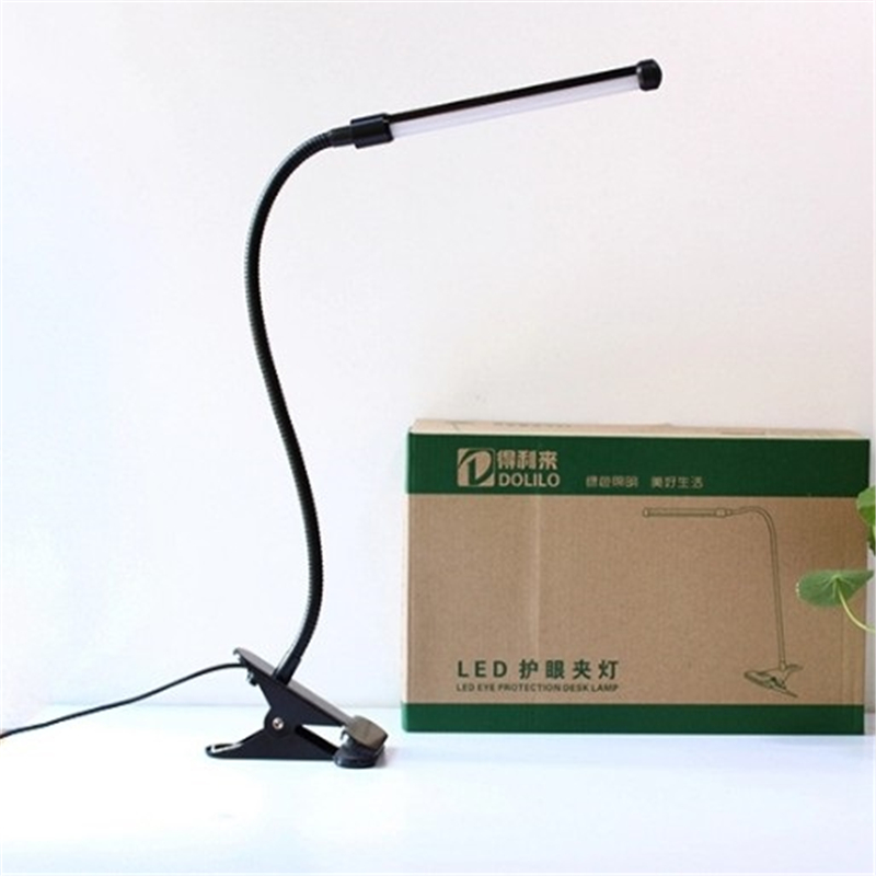 Free shipping USB and adptor clamp table lamp , desk lamp ,reading lights for beds,flexible desk lamp, Dimming Type TD510- WW(China (Mainland))