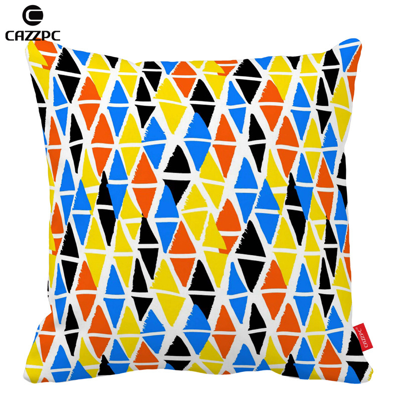 Colorful Hand Painted Geometric Shapes Car Decorative  : Colorful Hand Painted Geometric Shapes Car Decorative Throw Pillowcase Pillow cases Cushion Covers Sofa Chair Home from www.aliexpress.com size 800 x 800 jpeg 267kB