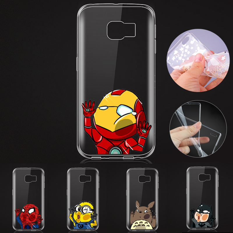 0.5mm Soft TPU Cute Cartoon Despicable Me Cases for Samsung Galaxy S7 Edge Silicone Cases(China (Mainland))