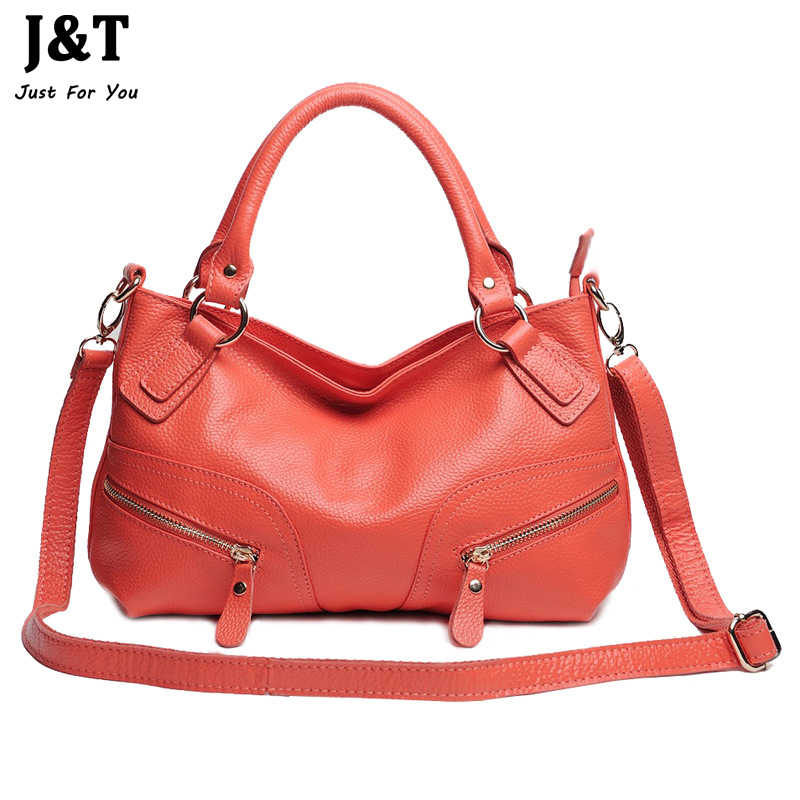 2015 New 100% First Layer Cowhide Genuine Leather Women Shoulder Handbag Women Crossbody Handbags Famous Brands Messenger Tote<br><br>Aliexpress