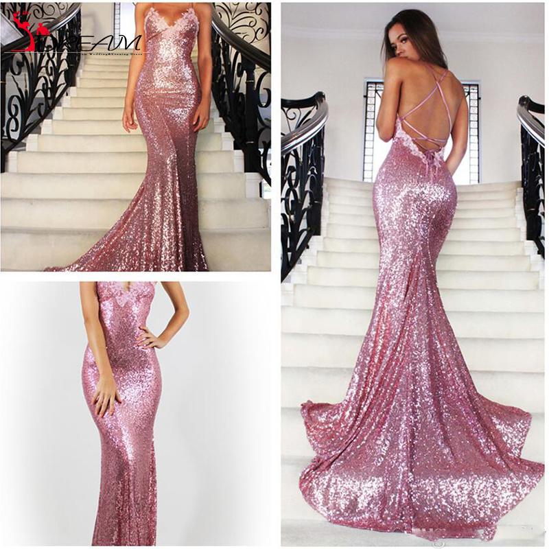 Prom dress maroon glitter