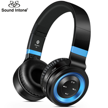 Buy Sound Intone P6 Wireless Headsets Bluetooth 4.0 Headphones Microphone Support TF Card FM Radio MP3 Cellphones Laptop for $22.99 in AliExpress store