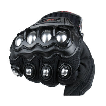 2016 New Madbike protective Gloves motorcycle Stainless Steel Sports Racing Road Gears Motorbike motocicleta guantes moto luvas