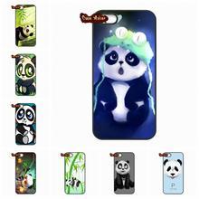 Super Cute Panda Rolling TPU Phone case cover For LG G2 G3 G4 HTC One M7 M8 iPod Touch 4 5 iPhone 4 4S 5 5C 5S 6 6S Plus(China (Mainland))