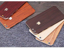 10set Ultra Wood Surface Full Body Skin Decal Cover Sticker For iphone 6/6s 6plus Coating Cellphone Skinny Protection Stickers