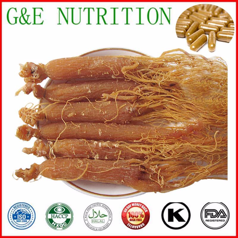 500mg x 900pcs High quality Korea red ginseng/ Korea Radix Ginseng Capsule with free shipping<br><br>Aliexpress