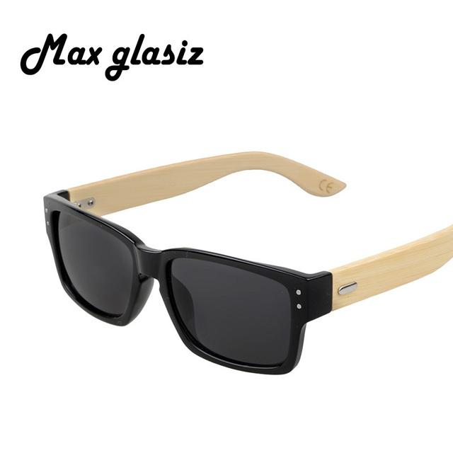 2016 мода бамбука óculos де мадейра женщин людей ourdoor старинные очки летом ...