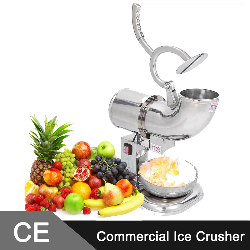 440LBS/H Ice Shaver Machine Snow Cone Maker Shaved Ice Electric Crusher(China (Mainland))