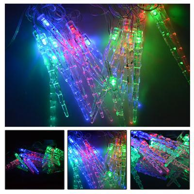 Christmas Outdoor Large Icicles String Lights 5M 20 leds 110V~ 220V Holiday Lights For Xmas Party Wedding Halloween Decoration(China (Mainland))