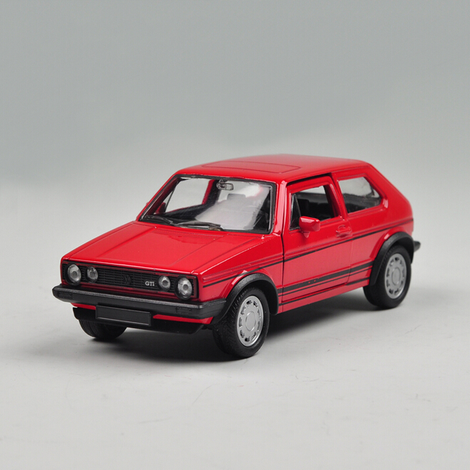 Welly VW 1983 GOLF GTI Red Model 1:36 Diecast Models Toys model cars Alloy Car Pull Back Car Children's Toy Cars Kids Toys(China (Mainland))
