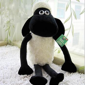 25 см новый горячий симпатичные шон ягненка плюшевые игрушки куклы для детская ребенка день рождения праздничный подарок отправить детей прекрасный мягкие ребенком игрушка