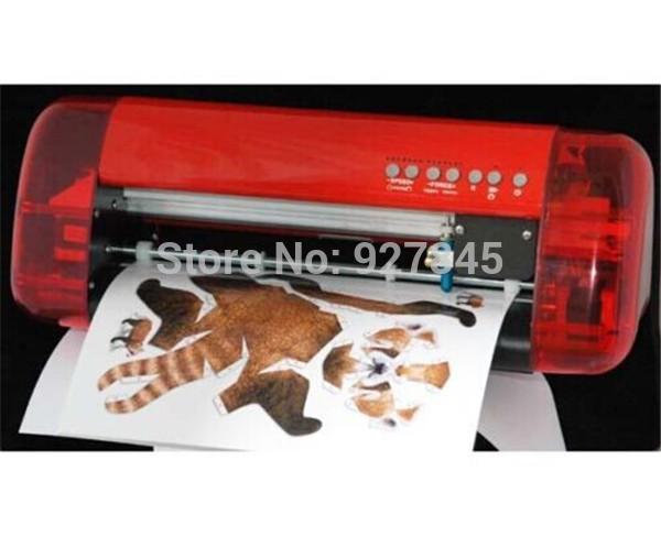 1pc Mini Vinyl Cutter Cutok DC240, PU PVC A4 Size Mini Desktop Portable Cutting Plotter Free shipping by DHL(China (Mainland))