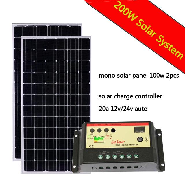 Popular 200 Watt Solar Panel Buy Cheap 200 Watt Solar