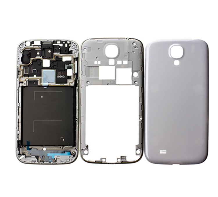 100% guarantee,Brand New Original Full Housing For samsung S4 I9500 I9505 I337 LCD bezel + middle frame + Battery Back Cover