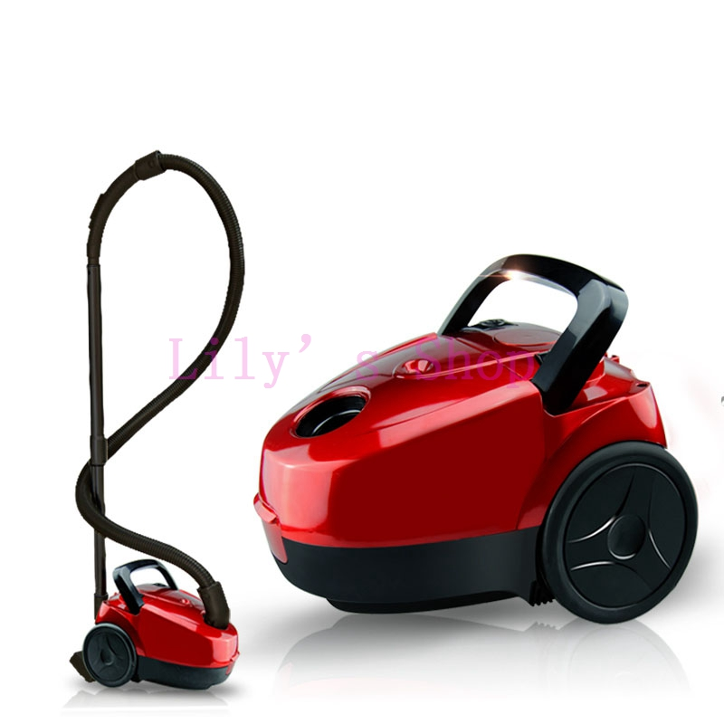New Ultra Quiet Mini Vacuum Cleaner household powerful carpet bed mites EU style plug Euro(China (Mainland))