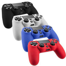 Silicone Soft Skin Cover Case Protection Skin For SONY PS4 Playstation 4 Controller Joystick 7 Colors