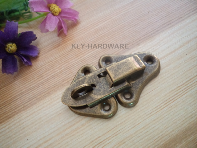 Jewelry Box Latch Catch Hasp Catch, Latch Catch for Cases Boxes Chests,10pcs/lot(China (Mainland))