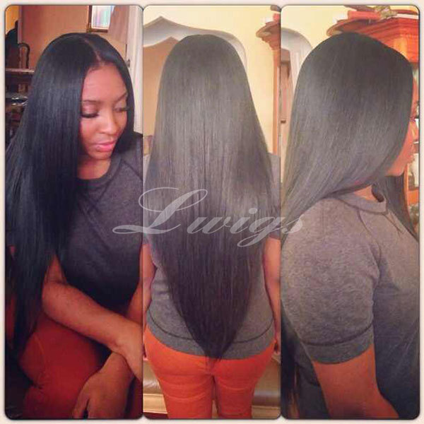 Yaki Straight human hair wigs,lace front human hair wigs 8-26inch Brazilian lace front wig instock free shipping<br><br>Aliexpress