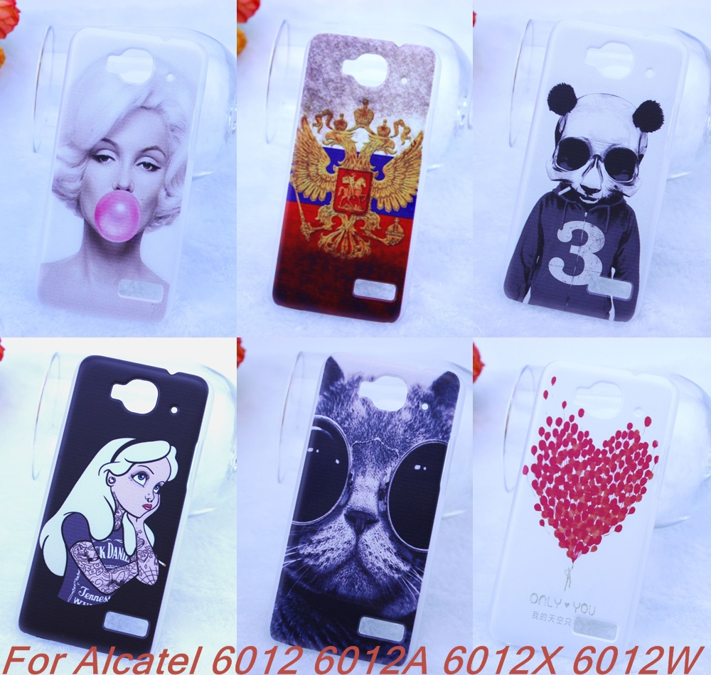 Alcatel one touch Idol Mini 6012 6012A 6012X 6012W 100% Top cat Case Hard PC Fashion Cover Skin - Goods Factory HK store