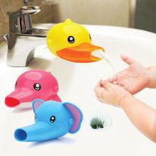 Rubinetto extender per aiuta i bambini del bambino del capretto lavaggio a mano in acqua lavandino del bagno accessori da bagno led per chuveiro ~ GM287(China (Mainland))