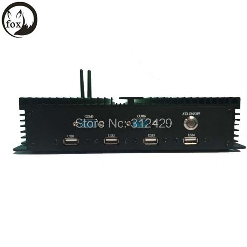 linux embedded boards mainboards dc power gateway mini computer with 1037u processor 4gb ram 128gb ssd 1.80ghz(China (Mainland))