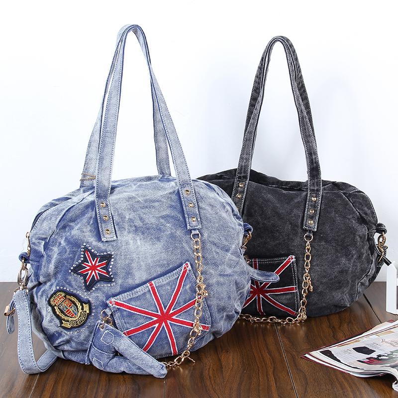Denim Jeans Handbags Women Messenger Bags Vintage Crossbody Shoulder UK Woman Designers Brand 2015 W183 - My Style Fashion Bag Store store