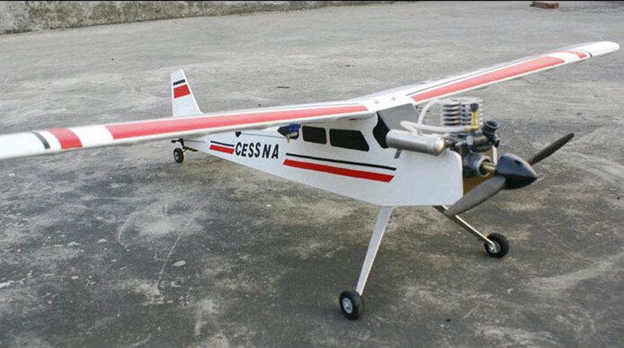 RTF 2.4G Nitro Version / RC plane 15 class Cessna nitro trainer airplane / Ready To Fly(China (Mainland))