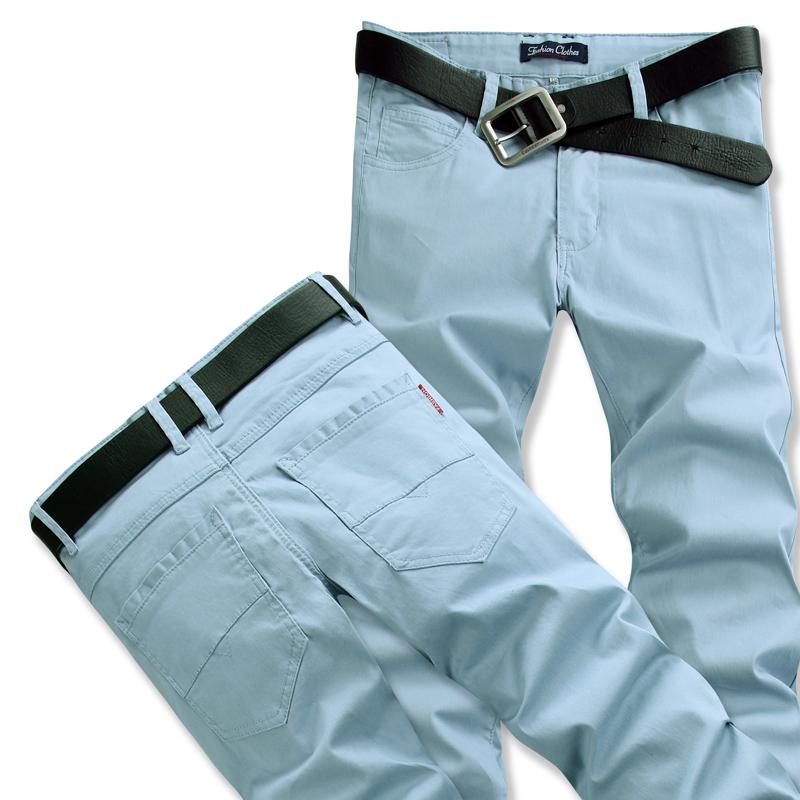 2014 spring Summer men casual pants slim fit straight Linen material+cotton long trousers sweatpants thin plus size 28-46 - Fashion ABC CO.,LTD store