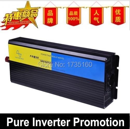 Fedex freeshipping! 2500W Off Grid Pure Sine Wave Power Invertor, 2500w Peak power Invertor, Solar&Wind Invertor(China (Mainland))