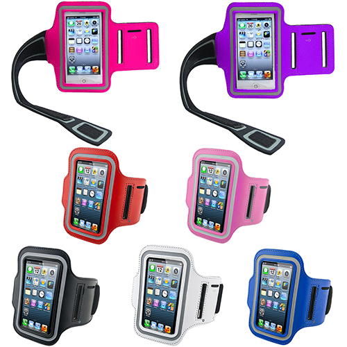 Waterproof Sports Running Case Workout Holder Pounch For iphone 5 5G Cell Phone Arm Bag Band GYM Fashion 1N24(China (Mainland))