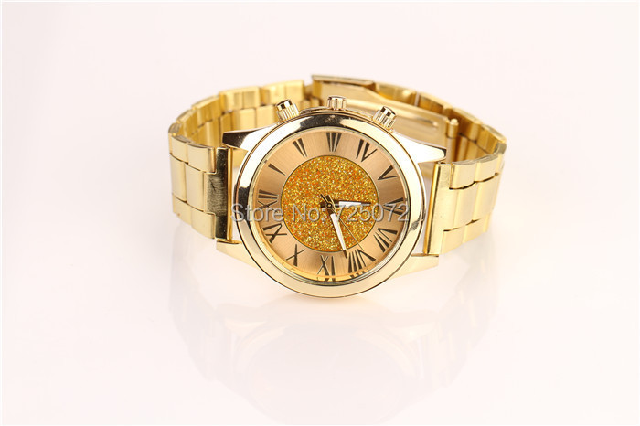 Gold watch men women quartz relogios femininos women dress watch roman number watches relogio masculino reloj